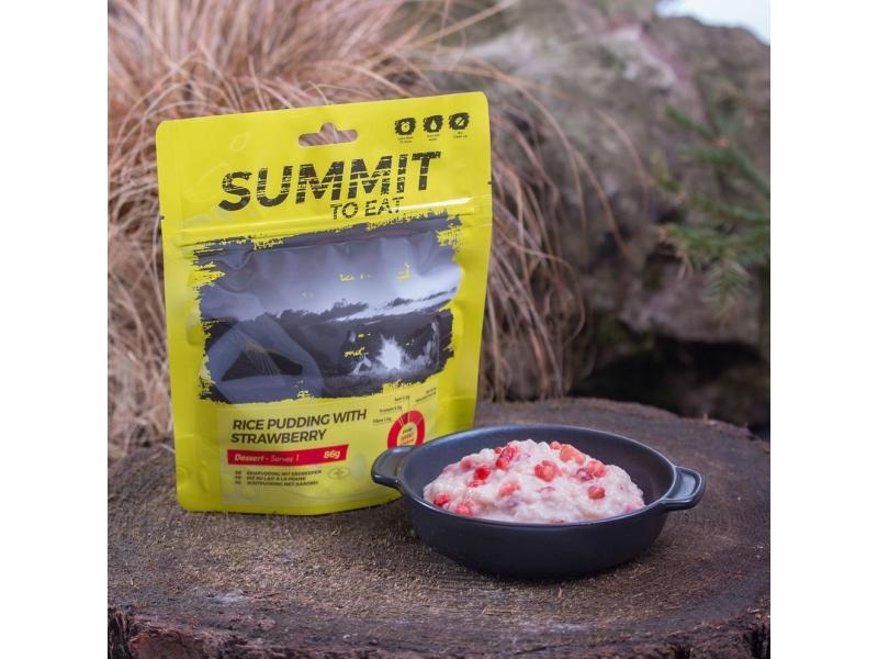výživa - SUMMIT TO EAT - Rýžový nákyp s jahodami