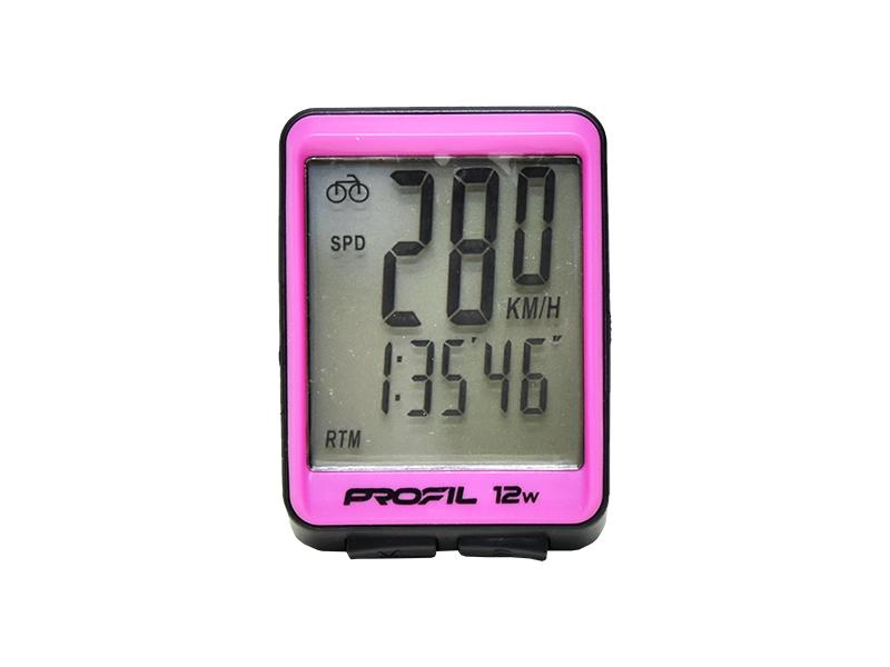 cc PROFIL 12W černo-růžový bezdrátový