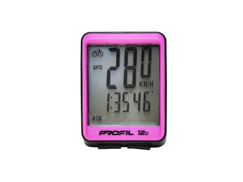 cc PROFIL 12D černo-růžový drátový