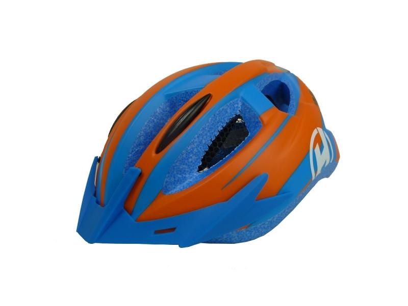 přilba HAVEN Luminate Kid modro-oranžová S/M