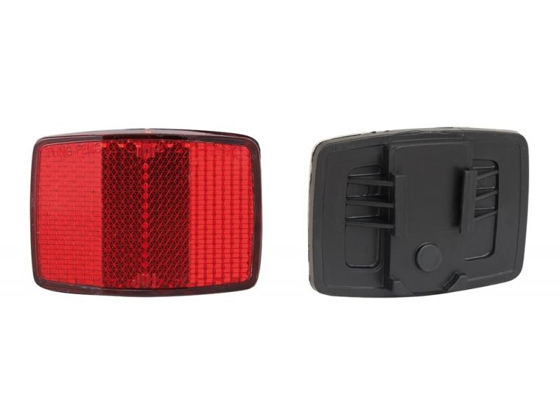 světlo - odrazka zadní hranatá červená