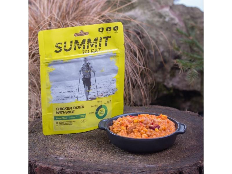 výživa - SUMMIT TO EAT - Kuře Fajita s rýží