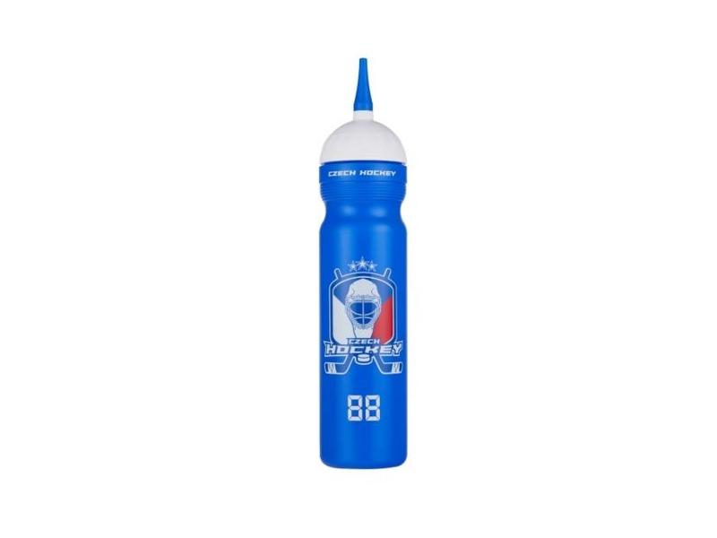 láhev 1.0l RaB hubice Czech Hockey modrá
