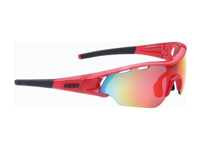 brýle BBB BSG-50 Summit červené matné