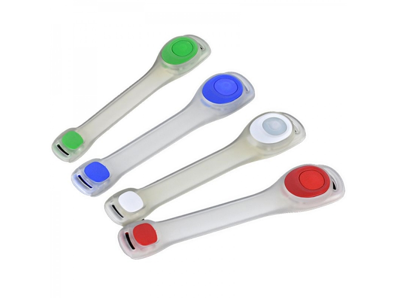 pásek HAVEN silikonový svítící zelený