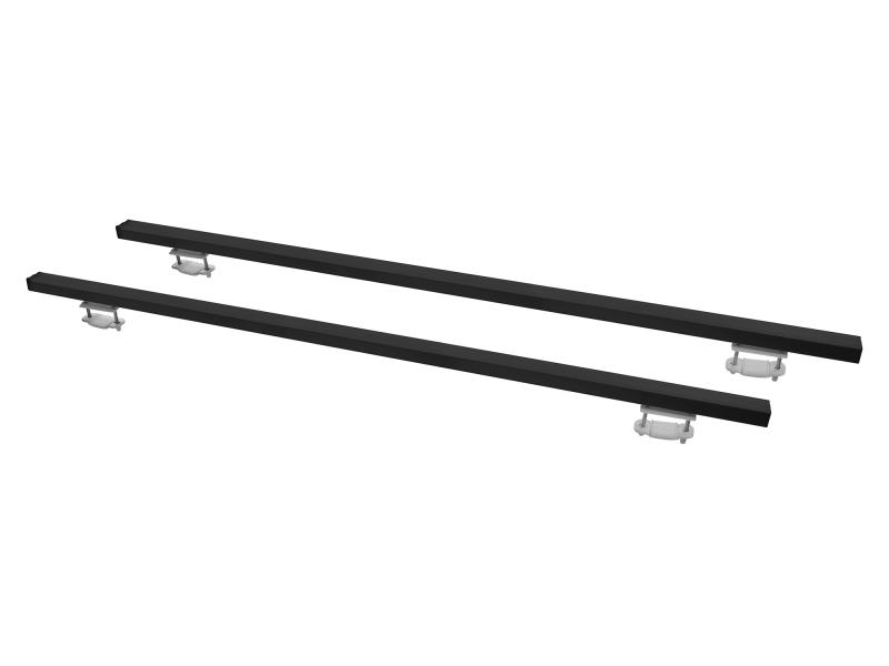 autopříčníky střešní Al XPRESS ECO 1200mm, černé