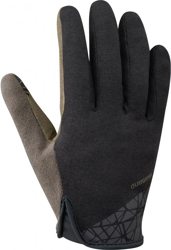rukavice SHIMANO TRANSIT LONG pánské černé L