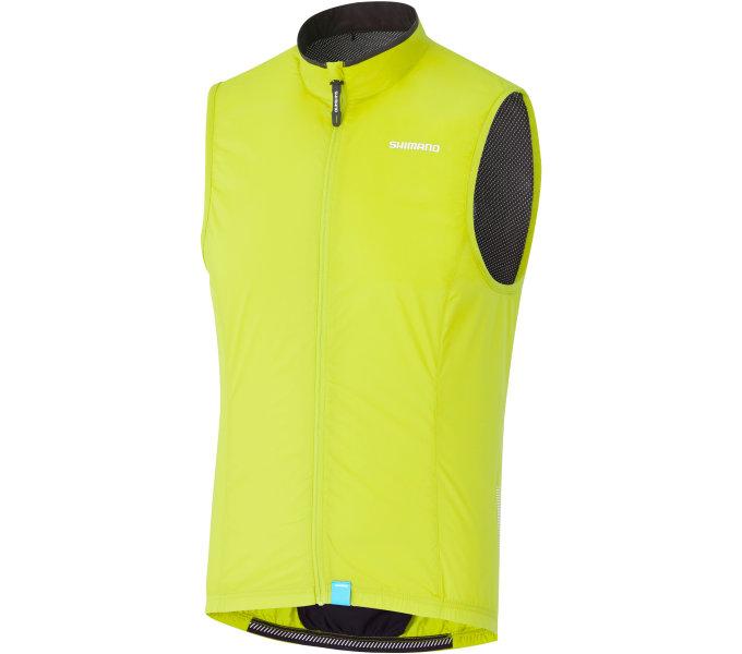 vesta SHIMANO Compact Wind pánská neon žlutá L
