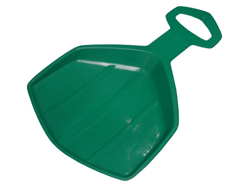zima-klouzák plast.Pinguin zelený