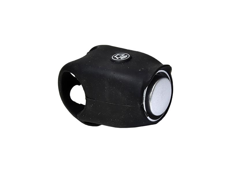 zvonek PROFIL černý elektronický silikon
