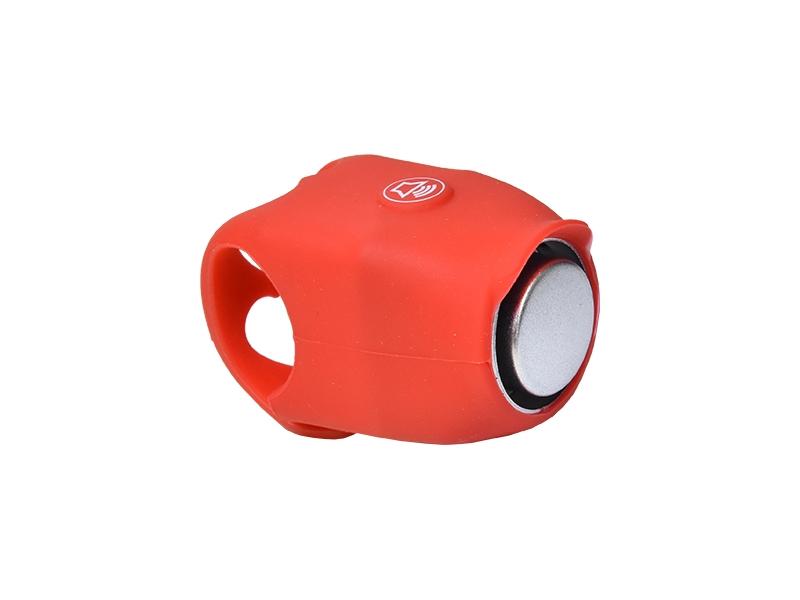zvonek PROFIL červený elektronický silikon