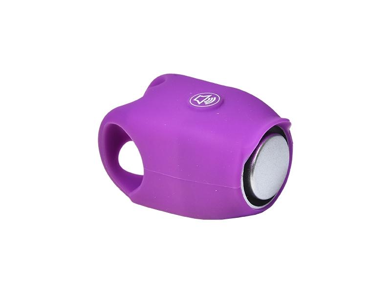 zvonek PROFIL fialový elektronický silikon
