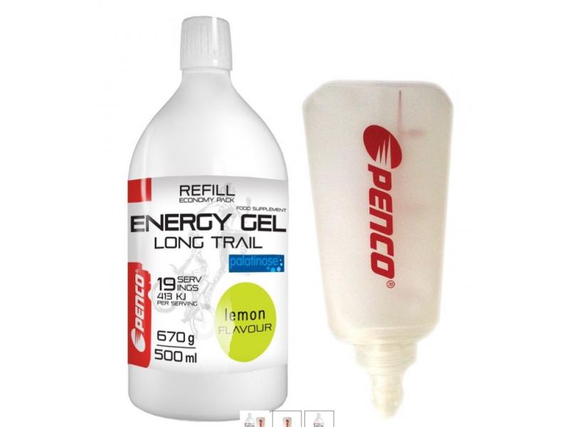 výživa - PENCO ENERGY GEL 670g citron + Soft Flask