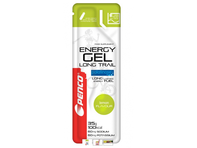 výživa - PENCO ENERGY GEL Long Trail citron 35g sáček