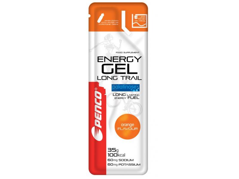 výživa - PENCO ENERGY GEL Long Trail orange 35g sáček