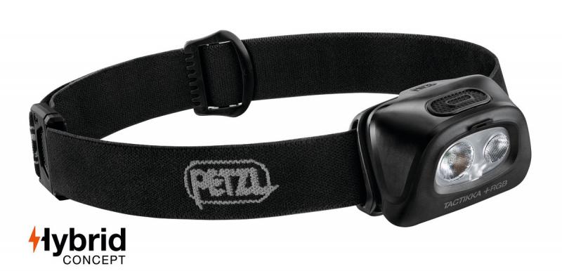 světlo - čelovka PETZL TACTIKKA+ RGB 2019 černá