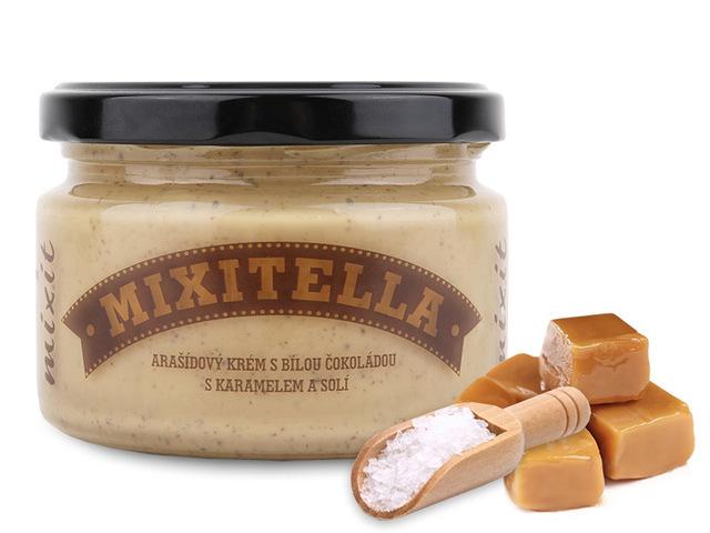MIXIT krém MIXITELLA arašídy se slaným karamelem 250g