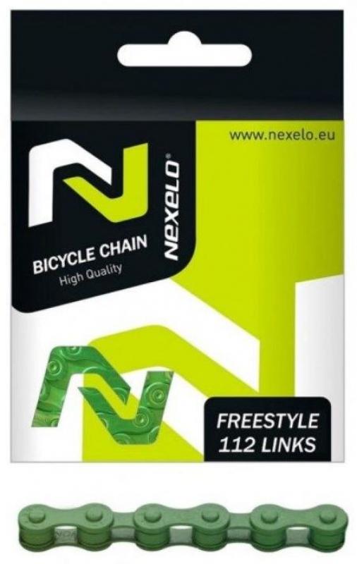 řetěz NEXELO 1-rychlostní zelený BOX