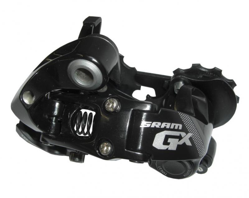 měnič SRAM 10sp. GX černý, krátké vodítko