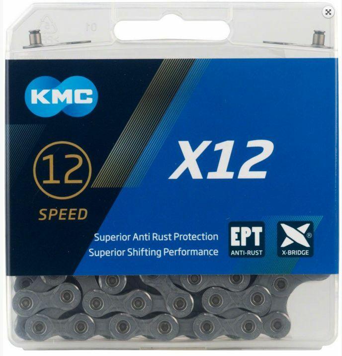 řetěz KMC X12 EPT, 12sp., 126čl.