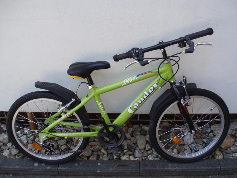 """JK Condor 20"""" ALU 6sp. chlapecké zelené"""